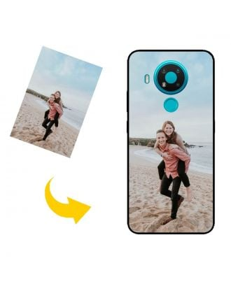 Custom Made Nokia 5.4 Phone Case with Your Own Design, Photos, Texts, etc.