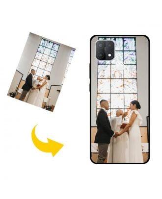 Personligt OPPO A15s telefonfodral med dina foton, texter, design etc.