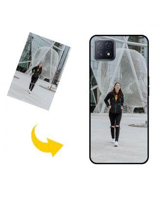 Personlig OPPO A73 5G telefonveske med bilder, tekster, design osv.