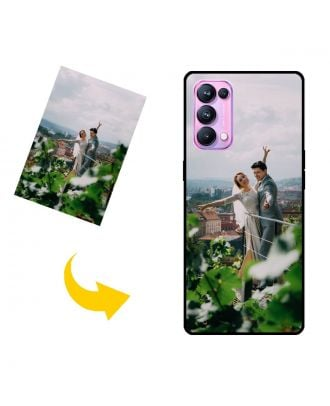 Custom Made OPPO Reno5 Pro 5G Phone Case with Your Own Design, Photos, Texts, etc.