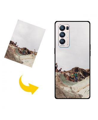 Aangepast OPPO Reno5 Pro+ 5G telefoonhoesje met uw foto's, teksten, ontwerp, etc.