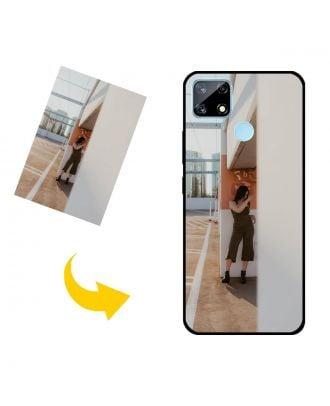 Gepersonaliseerd Realme 7i (Global) telefoonhoesje met je eigen foto's, teksten, ontwerp, etc.