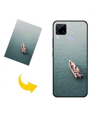 Виготовлений на замовлення Realme C15 Qualcomm Edition чохол для телефону з власним дизайном, фотографіями, текстами тощо.