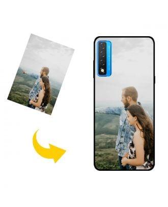 Na mieru vyrobené TCL 20 5G puzdro na telefón s vlastným dizajnom, fotografiami, textami atď.