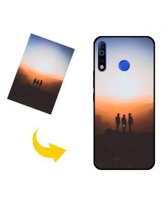 Na mieru vyrobené TECNO Spark 4 puzdro na telefón s vlastnými fotografiami, textami, dizajnom atď.