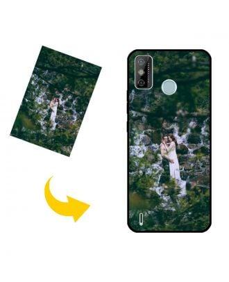 Wykonane na zamówienie etui na telefon TECNO Spark 6 Go ze zdjęciami, tekstami, projektem itp.