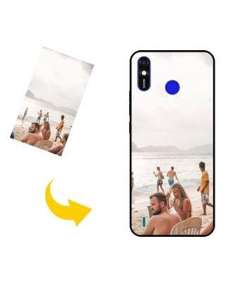 Customized TECNO Spark Go 2020 Phone Case with Your Own Design, Photos, Texts, etc.