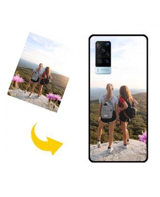 Personlig vivo X60 5G telefonveske med egne bilder, tekster, design osv.