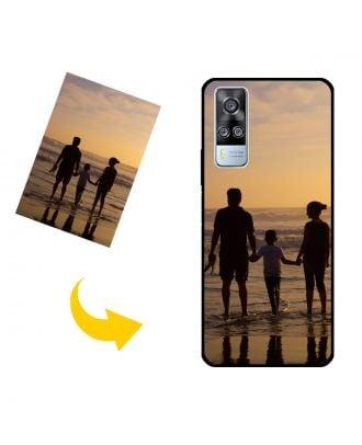 Kendi Fotoğraflarınız, Metinleriniz, Tasarımınız vb.İle Özel vivo Y51 (2020, December) Telefon Kılıfı