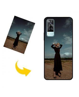 Kendi Fotoğraflarınız, Metinleriniz, Tasarımınız vb.İle Özel vivo Y51a Telefon Kılıfı