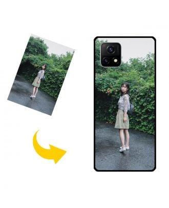Prispôsobené vivo Y52s / Y52s 5G puzdro na telefón s vlastným dizajnom, fotografiami, textami atď.