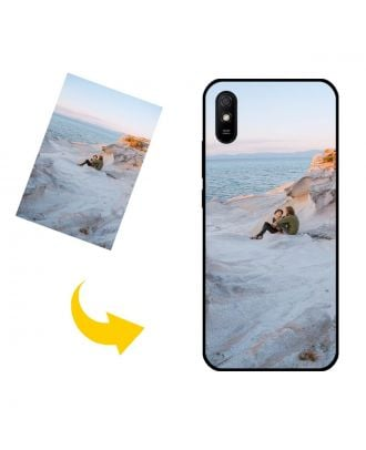 Tilpasset Xiaomi Redmi 9AT telefonetui med dine fotos, tekster, design osv.