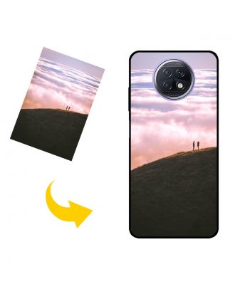 Prispôsobené Xiaomi Redmi Note 9T puzdro na telefón s vlastnými fotografiami, textami, dizajnom atď.