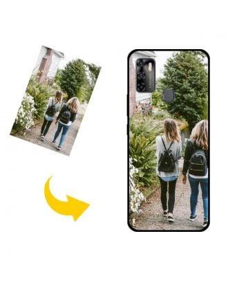 Mukautettu ZTE Blade 20 5G puhelinkotelo, jossa on oma suunnittelu, valokuvat, tekstit jne.