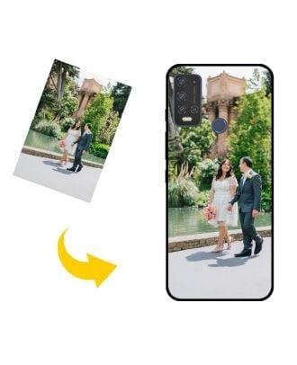 Виготовлений на замовлення GIONEE P15 Pro чохол для телефону з власним дизайном, фотографіями, текстами тощо.