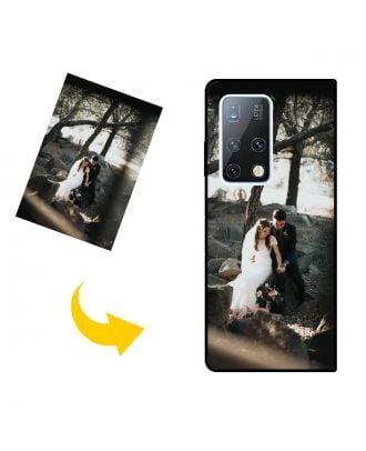 사진, 텍스트, 디자인 등이 포함 된 맞춤형 HUAWEI Mate X2 휴대 전화 케이스