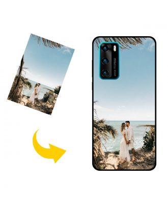 独自の写真、テキスト、デザインなどが入ったカスタムHUAWEI P40 4G電話ケース