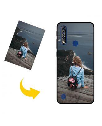 나만의 사진, 텍스트, 디자인 등이 포함 된 맞춤형 Lenovo A8 2020 휴대 전화 케이스