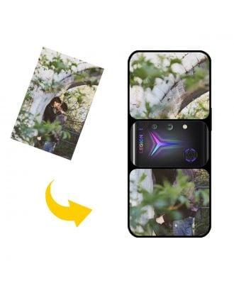 写真、テキスト、デザインなどが入ったパーソナライズされたLenovo Legion 2 Pro電話ケース