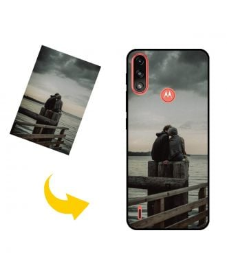 Customized Motorola Moto E7 Power Phone Case with Your Own Photos, Texts, Design, etc.