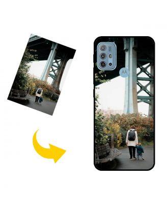 나만의 디자인, 사진, 텍스트 등이있는 맞춤형 Motorola Moto G10 Power 휴대폰 케이스