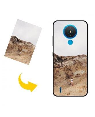 나만의 사진, 텍스트, 디자인 등이 포함 된 맞춤형 Nokia 1.4 휴대 전화 케이스