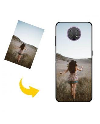 사진, 텍스트, 디자인 등이 포함 된 맞춤형 Nokia G10 휴대폰 케이스