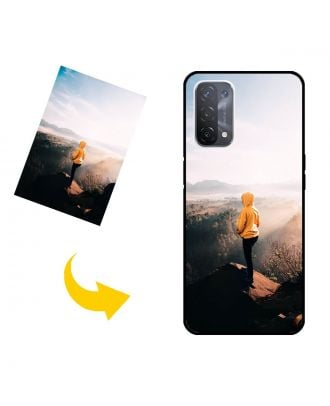 Спеціальний OPPO A74 5G чохол для телефону з вашими фотографіями, текстами, дизайном тощо.