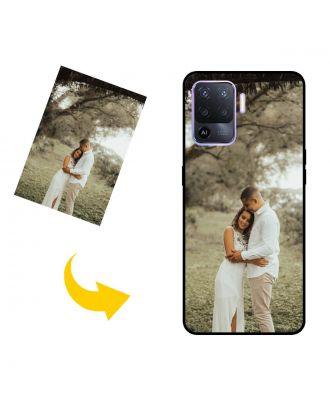 写真、テキスト、デザインなどが入ったパーソナライズされたOPPO A94電話ケース