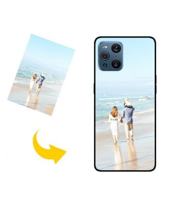 独自の写真、テキスト、デザインなどを含む、カスタマイズされたOPPO Find X3電話ケース