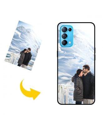Индивидуальный OPPO Find X3 Lite чехол для телефона с вашими фотографиями, текстами, дизайном и т. Д.