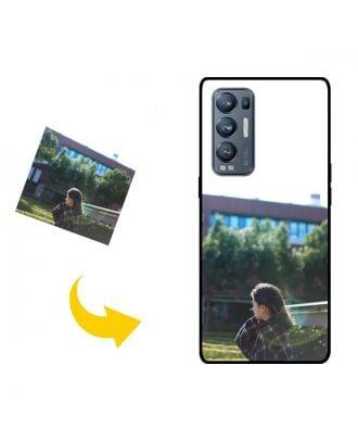 Виготовлений на замовлення OPPO Find X3 Neo чохол для телефону з власними фотографіями, текстами, дизайном тощо.