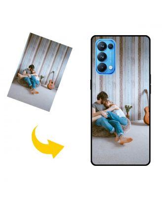 나만의 사진, 텍스트, 디자인 등이 포함 된 맞춤형 OPPO Reno5 K 휴대 전화 케이스