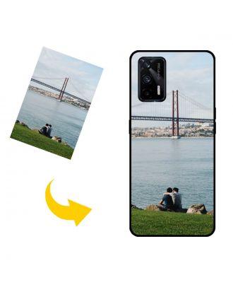 写真、テキスト、デザインなどが入ったカスタムメイドのRealme GT 5G電話ケース