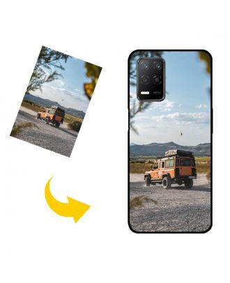 나만의 디자인, 사진, 텍스트 등이있는 맞춤형 Realme Q3 5G 휴대폰 케이스