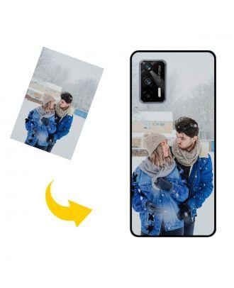 Виготовлений на замовлення Realme Q3 Pro 5G чохол для телефону з власним дизайном, фотографіями, текстами тощо.
