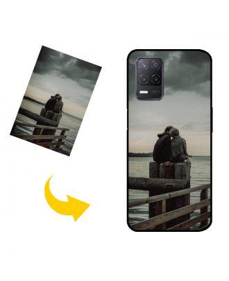 사진, 텍스트, 디자인 등이 포함 된 맞춤형 Realme V13 5G 휴대폰 케이스