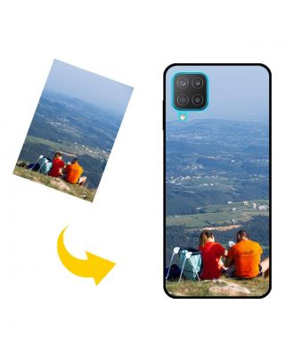 Персонализированный чехол для телефона Samsung Galaxy M12 (India) с вашими фотографиями, текстами, дизайном и т. Д.
