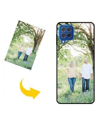 独自のデザイン、写真、テキストなどを使用したカスタムメイドのSamsung Galaxy M62電話ケース