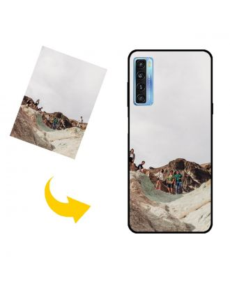 Custom TCL 20S Phone Case with Your Own Design, Photos, Texts, etc.