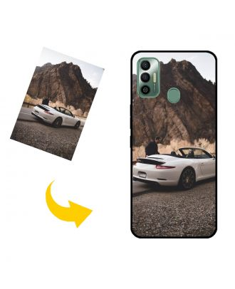 Customized TECNO Spark 7 Phone Case with Your Own Photos, Texts, Design, etc.