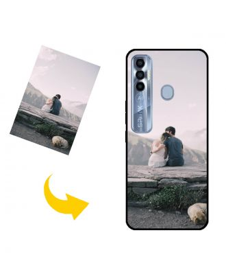 Custom TECNO Spark 7 Pro Phone Case with Your Own Design, Photos, Texts, etc.