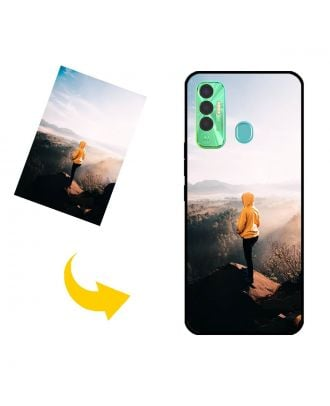 Customized TECNO Spark 7P Phone Case with Your Own Photos, Texts, Design, etc.