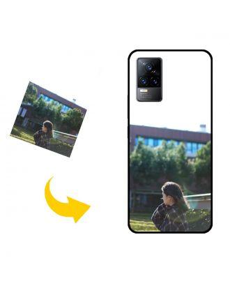 独自の写真、テキスト、デザインなどを含むカスタムメイドのvivo V21e電話ケース