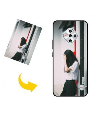 写真、テキスト、デザインなどが入ったカスタムメイドのvivo X50e電話ケース
