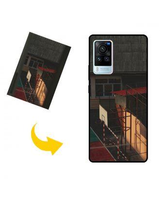 Персоналізований vivo X60 Pro чохол для телефону з вашими фотографіями, текстами, дизайном тощо.