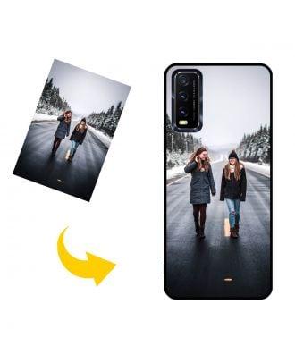 独自のデザイン、写真、テキストなどを使用したカスタムメイドのvivo Y20s [G]電話ケース