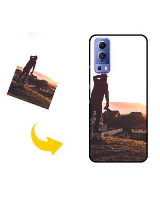 나만의 사진, 텍스트, 디자인 등이 포함 된 맞춤형 vivo Y72 5G 휴대 전화 케이스