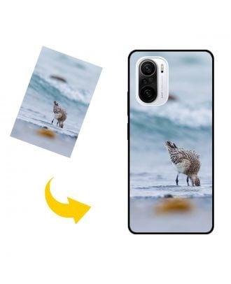 Индивидуальный Xiaomi Poco F3 чехол для телефона с вашими фотографиями, текстами, дизайном и т. Д.
