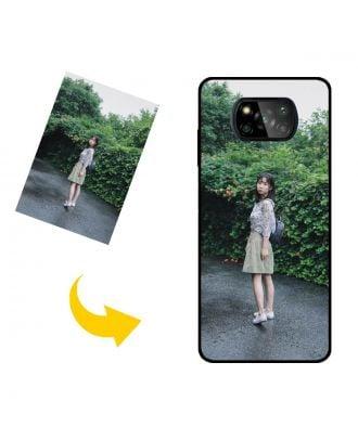 Сделанный на заказ Xiaomi Poco X3 Pro чехол для телефона с вашими фотографиями, текстами, дизайном и т. Д.